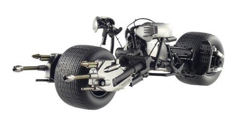Hotwheels - Elite (Mattel) - X5471 - Véhicule Miniature - Modèle À L'Échelle - Batmobile Batpod - The Dark Knight Rises - Echelle 1/18