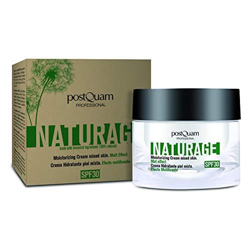 Postquam - Naturage   Crema Hidratante Piel Mixta 100% Natural con Protector Solar SPF 30-50 ML