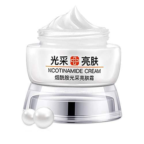 Crema hidratante facial - Crema blanqueadora e iluminadora, Crema hidratante nutritiva, Crema para aclarar la piel, Eliminar manchas solares, Reducir la pigmentación 50 ml