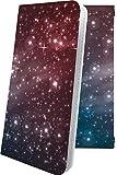 iPhone11 Pro ケース 手帳型 オーロラ 天の川 茶 星 星柄 星空 宇宙 夜空 星型 アイフォン ア……