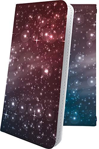 スマートフォンケース・ZenFone5Q ZC600KL・互換 ケース 手帳型 オーロラ 天の川 茶 星 星柄 星空 宇宙 夜空 星型 ゼンフォン5q ゼンフォン5 手帳型スマートフォンケース・おしゃれ zenfone 5q 5 q かっこいい [8Fa20619GU6]