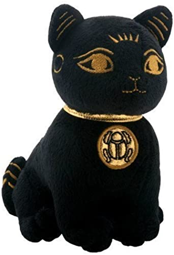 auténtico Egyptian Smaller negro and and and oro Bastet Cat Kitten Egyptian Stuffed Plush Doll-H 5.25  by Bundle of JOY  calidad de primera clase