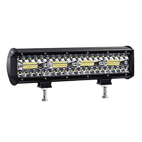 Kraumi LED Arbeitsscheinwerfer 12 Zoll 240W Cree LED Zusatzscheinwerfer 23,000lm Led Scheinwerfer 12V Auto Scheinwerfer Offroad Flutlicht Wasserdicht IP68 Arbeitslicht