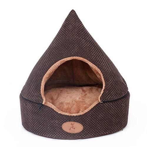 LTAYZ Pet Dog Bed Cat Tenda Dog House all Seasons Resistente allo sfregamento Yurta Morbida con...