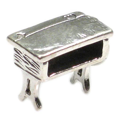 Schülerschreibtisch sterling-Silber 925-Anhänger, Old skool Ablagesystem für den Schreibtisch SSLP1301