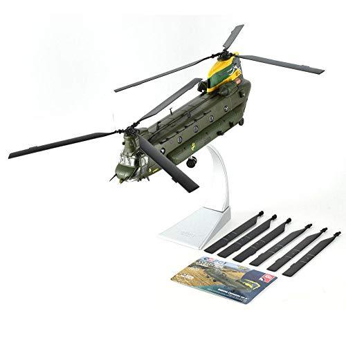 EP-Toy 1/72 Scala Chinook Military HC4 Elicottero della RAF Alloy Model, Regalo per Adulti E Oggetti da Collezione, 8.7Inch X 2Inch