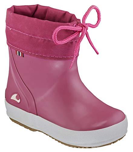 viking ALV, Unisex-Kinder Gummistiefel, Pink (Fuchsia), 23 EU (6 UK)