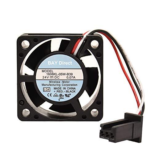 Enkeey 1608KL-05W-B39 24 V 0,07 A 4 cm 3-Draht-Ventilator, Grafikkartenventilator 404020 mm