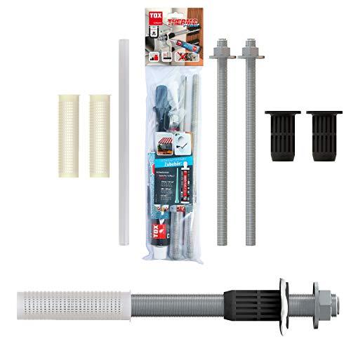 TOX Scherlast-Montagesystem, Markisenbefestigung Thermo Proof, M12x300 mm Edelstahl A4, 084600101
