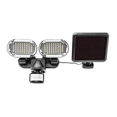 Sunforce Solar Motion Light - 1000 Lumen, 180 Degrees Detection Range, Fully Weather Resistant and can be Mounted Almost Anywhere