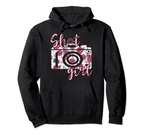 Fotografía Shot Chica Fotógrafo Cámara Shooting Lover Sudadera con Capucha