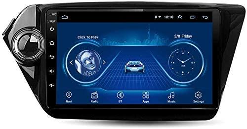 XXRUG Mappa Navigatore Satellitare Dispositivo per l'unità Principale Android Controllo del Volante KIA K2 2013-2016 satellitare Autoradio 8.1 da 9 Pollici autoradio USB FM AM Bluetooth
