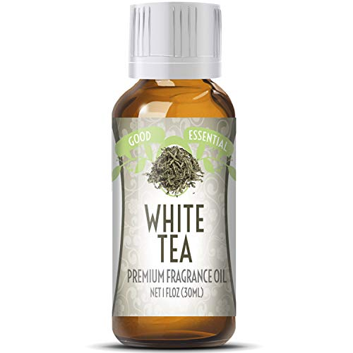 White Tea Scented Oil by Good Essential (Huge 1oz Bottle - Premium Grade Fragrance Oil) - Perfect for Aromatherapy, Soaps, Candles, Slime, Lotions, and More!