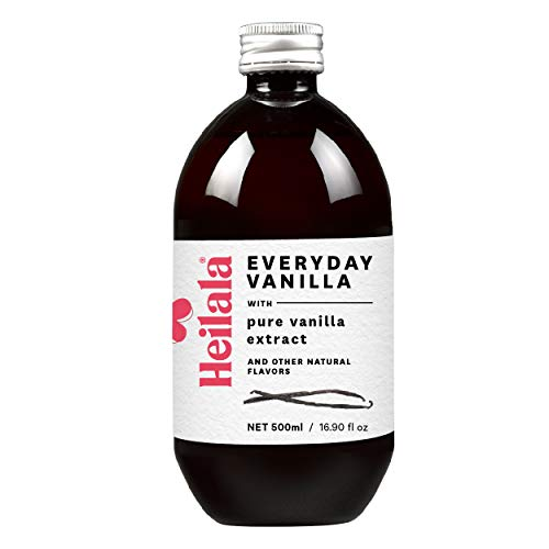 Heilala Everyday Vanilla, with Pure Vanilla Extract and other Natural Flavors, 16.90 fl oz - Gourmet Vanilla for Baking, Using Sustainable, Ethically Sourced Vanilla, Hand-Selected from Polynesia