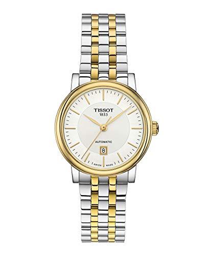Tissot Damen-Uhren Analog Automatik One Size Edelstahl 87603733