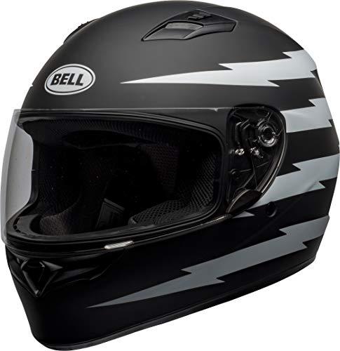 BELL Helmet Qualifier Z-Ray Matte Black/White M