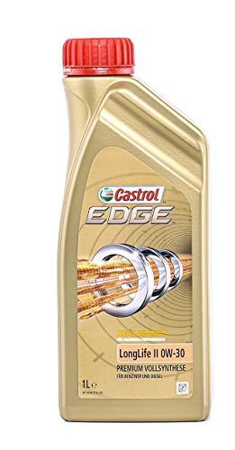 Castrol EDGE LongLife II Aceite de Motores 0W-30 1L (Sello alemán)