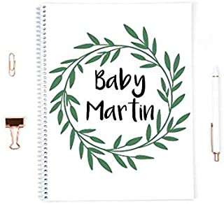 Baby Journal, Baby Book personalized, Baby book first year, Pregnancy journal, Baby memory book, baby shower gift, baby journal