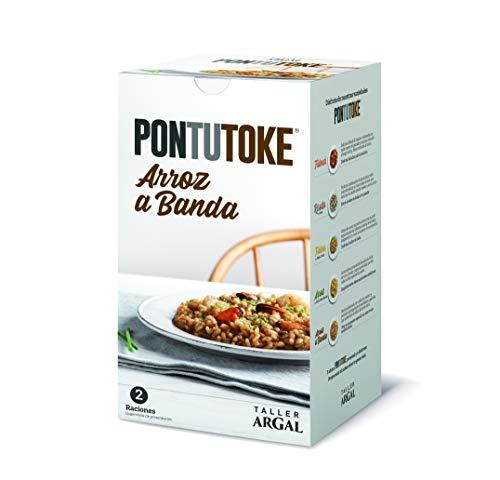 Arroz a banda Argal Pontutoke con caldo de pescado. Ración para dos personas de 900g. Sin gluten