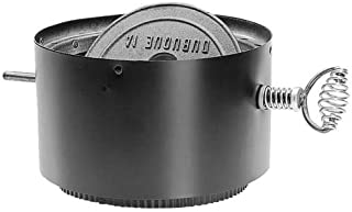 Simpson Duravent 6DVL-ADWD Double-Wall Air-Insulated Adapter/Damper Section as Stove Adapter, Connects DVL Pipe To The Appliance Flue Outlet, 7