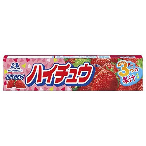 森永製菓 ハイチュウ ストロベリー 12粒×12個入×(2ケース)