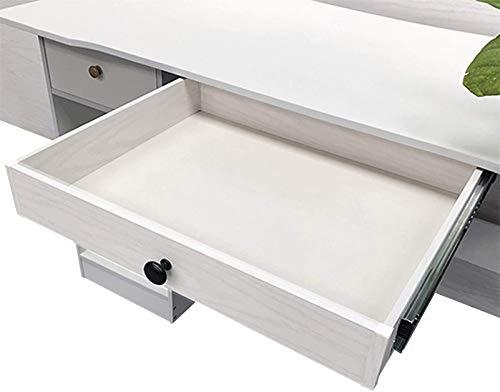 Cajón para el hogar, almacenamiento debajo del escritorio, cajón debajo de la mesa, cajón oculto, caja de almacenamiento debajo del soporte del escritorio, organizador del cajón del almacenamiento d