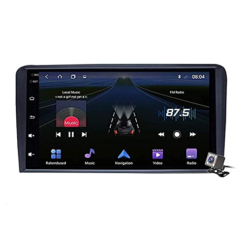 Coche Radio Estéreo Player Multimedia Para A3 S3 RS3 2003-2012 Android Head...