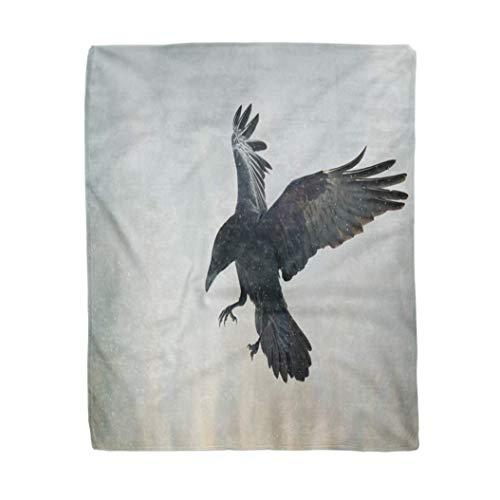 utong Decoración Suave Manta de pájaros Pájaro Volador Cu