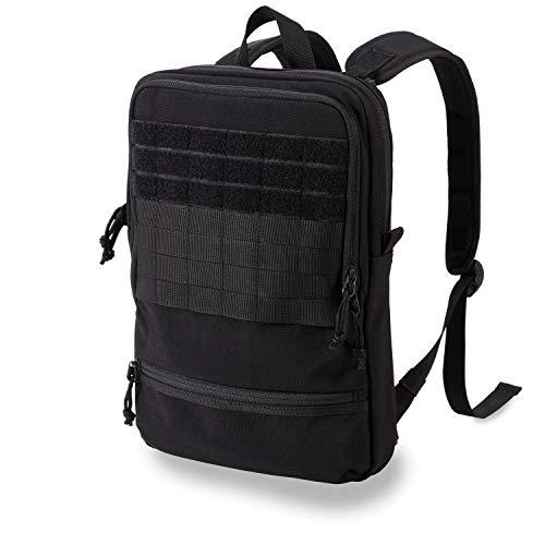"""Cargo Works 15"""" Laptop Backpack,Computer Bag for Women & Men, Resistant College School Bookbag, Slim Business Backpack- Black"""