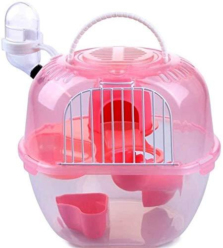 Gaorb040703 Leicht zu tragen Hamsterkäfig-Paket Golden Bear Cage Tier Habitat Tragbarer-Test Haustier-Zubehör