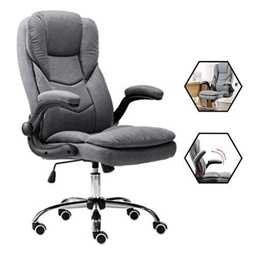 Stoelen bureaustoel computer huis stof schrijven kruk studie slaapkamer bureau lui bureaustoel comfortabele zitstoel meubilair
