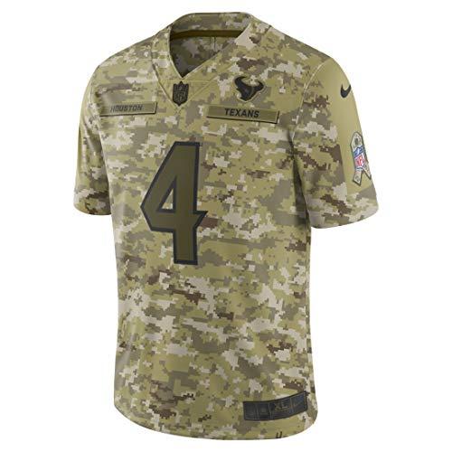 Nike Youth Medium (10-12) Deshaun Watson Houston Texans Salute to Service Jersey - Camo