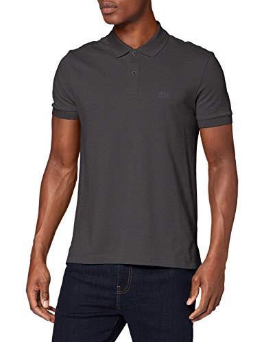 BOSS Herren Piro Poloshirt, Grau (Grey 020), Small