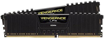 Corsair Vengeance LPX 16 GB, DDR4, 2666 MHz módulo de - Memoria (DDR4, 2666 MHz, 16 GB, 2 x 8 GB, DDR4, 2666 MHz, 288-pin DIMM, Negro)