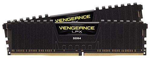 Corsair Vengeance LPX 16GB (4x4GB) DDR4 2800MHz C16 XMP 2.0 High Performance Desktop Arbeitsspeicher Kit, rot