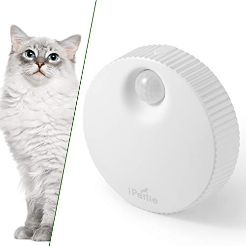 iPettie Cat Litter Box Odor Genie, Auto On/Off, Way Better Than Deodorizer or Neutralizer, Reduce Litter Dust, 10-Day Battery Life & USB Powered, for All Kinds of Litter Box, Cat Toilet