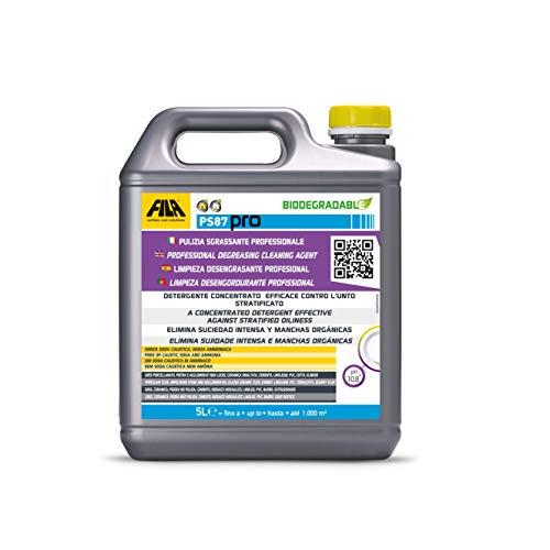 FILA Surface Care Solutions PS87 PRO Sgrassatore e Decerante, 5 Litri