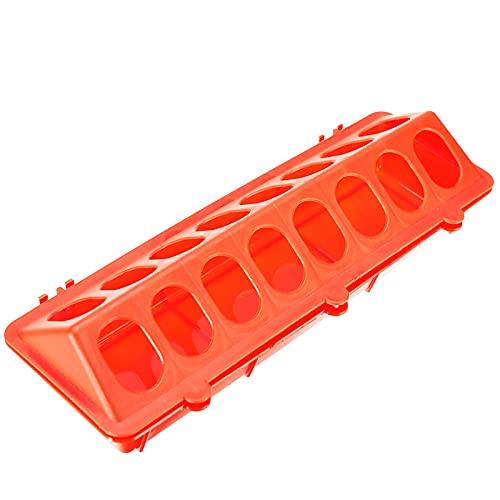 XIEYI 1 Pieza de Pollo asado a la Parrilla de plástico criador Flip molido Pollo Anti-propagación-Red_M