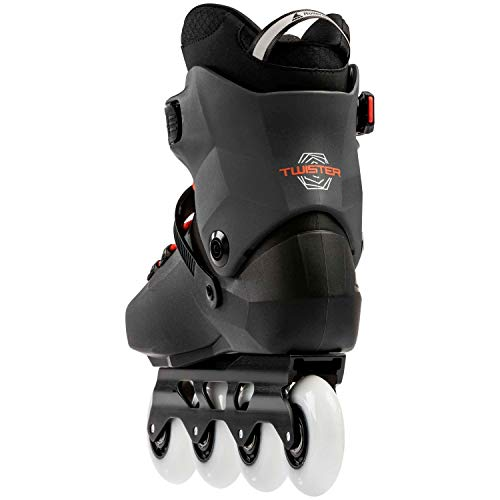 Rollerblade Twister Edge Skates Black,Adults Unisex, Black/Warm Red, 285