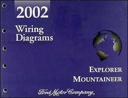 2002 Ford Explorer Mercury Mountaineer Wiring Diagram Manual ...  Ford Explorer Wiring Diagram on