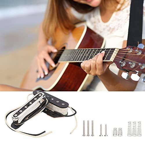 Captadores de guitarra elétrica, captadores de guitarra elétrica GMA19 de alta qualidade Acessórios para instrumentos musicais com 5 parafusos para música