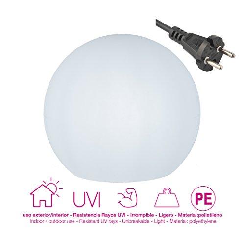 Moovere Boole Esfera Iluminada Decorativa E27, 7 W, 40 X 35 cm