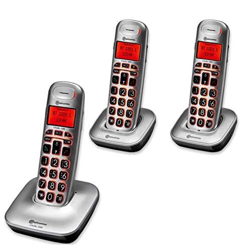 Teléfono fijo Senior BIGTEL TRIO CLASSIC 1203, Amplicomms