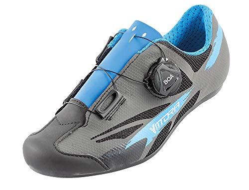 Vittoria Kid Boa Road Cycling Shoes (33, Blue)