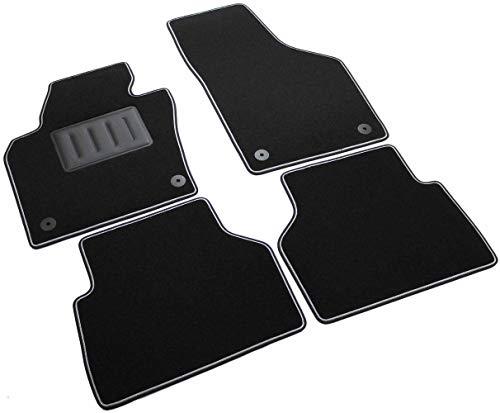 ilTappetoAuto by Fabbri3 - SPRINT04711 - Compatible avec Tapis de Voiture sur Mesure en Moquette Noire pour Volkswagen Tiguan