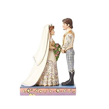 Jim Shore Disney Traditions by Enesco Rapunzel and Flynn Wedding Figurine