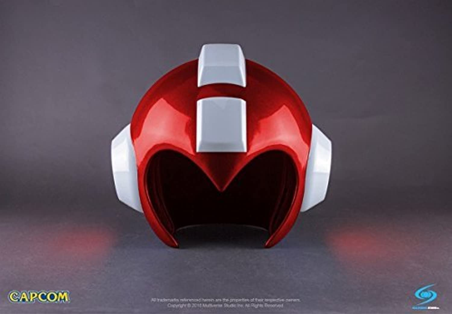 SDCC 2016 Exclusive Capcom Mega Man Wearable Helmet Replica (Rush Red Version) by Capcom