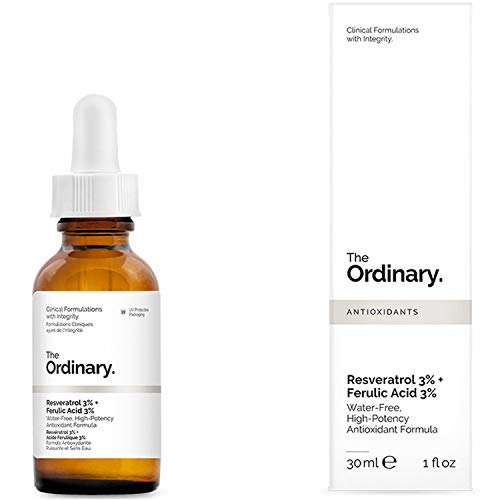 The Ordinary. Resveratrol 3% Ferulic Acid 3%