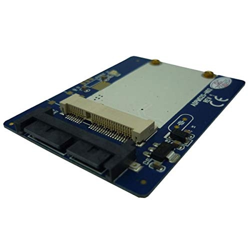IT-GO 1.8 inch Micro SATA to mSATA Adapter mSATA to 16pin Micro SATA Converter Card
