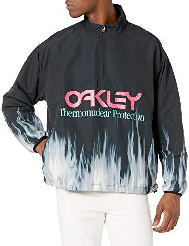 Oakley Herren TNP Bonfire Anorak Jacke, Blackout, X-Large